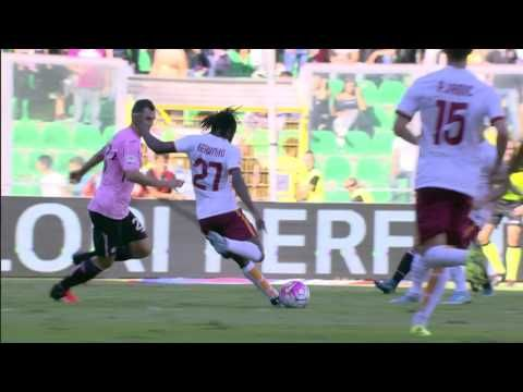 Palermo - Roma 2 - 4 - Matchday 7 - ENG - Serie A TIM 2015/16 - YouTube