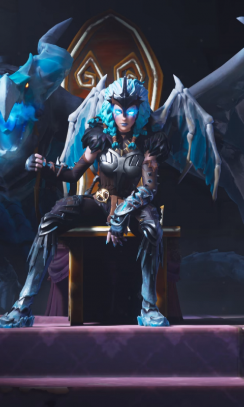Valkyrie Queen Fortnite Battle Royale 480x800 Wallpaper Video