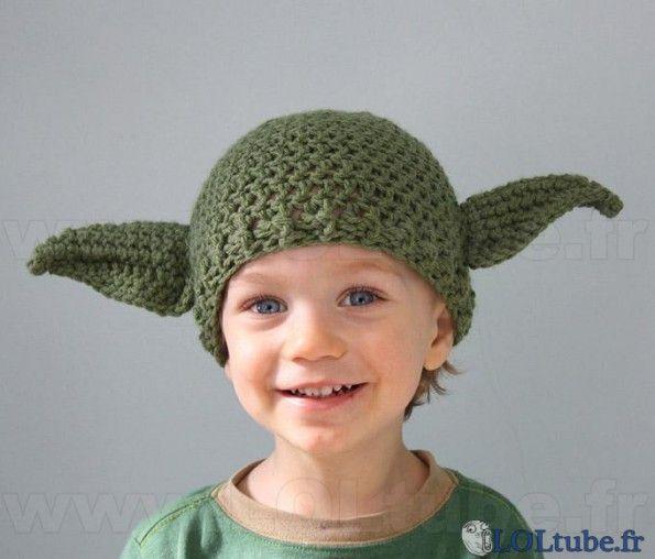 Yoda Ears Hat Knitting Pattern 3d
