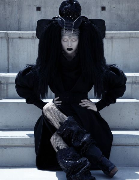 From an incredible photo series with fashion from Kattaca. Mindblowingly beautiful.