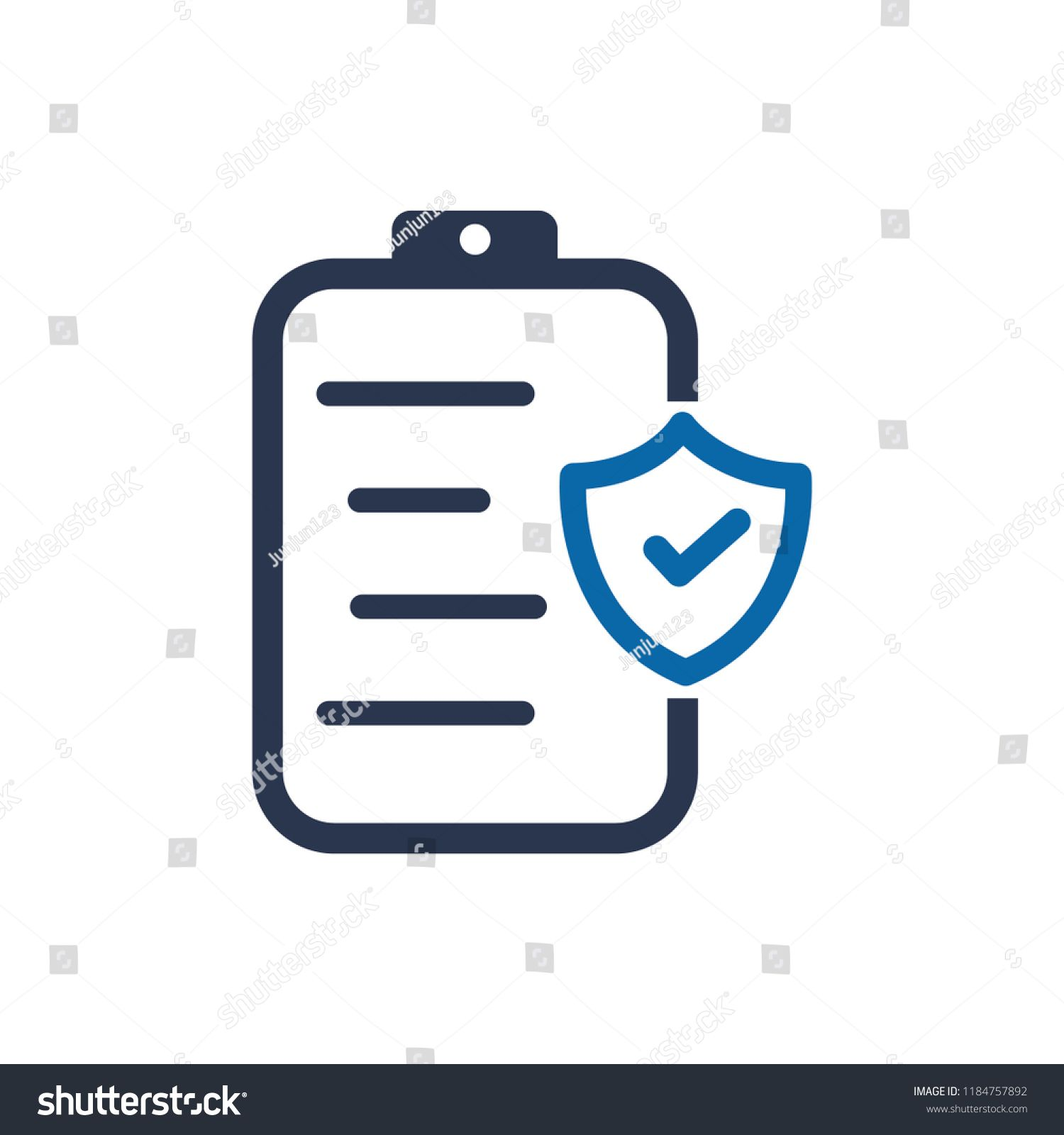 Insurance Policy Concept Insurance Policy Icon Policy Insurance Concept Icon Insurance Policy Concept Insurance
