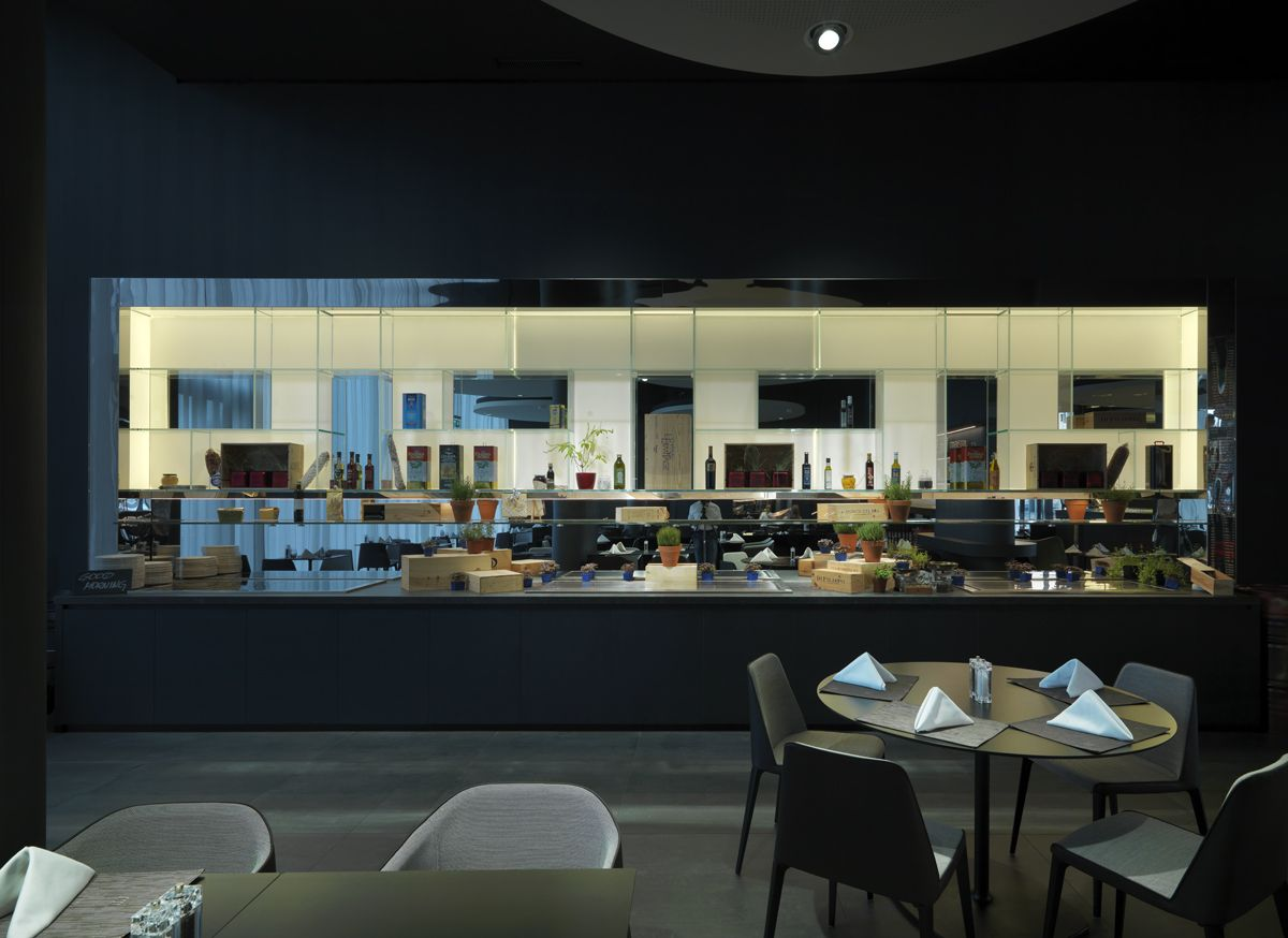 arredamento #design #ristorante #interiordesign   novotel - basel ... - Arredamento Design Ristorante