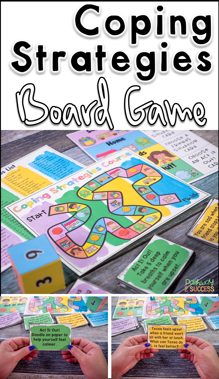 Coping Strategies Board Game | Anger Management for Kids