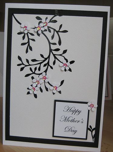 Handmade Mothers Day Card Mothersday Cards Greeting Cards