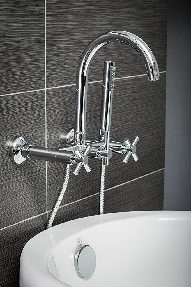Luxury Clawfoot Tub or Freestanding Tub Filler Faucet, Modern Design ...