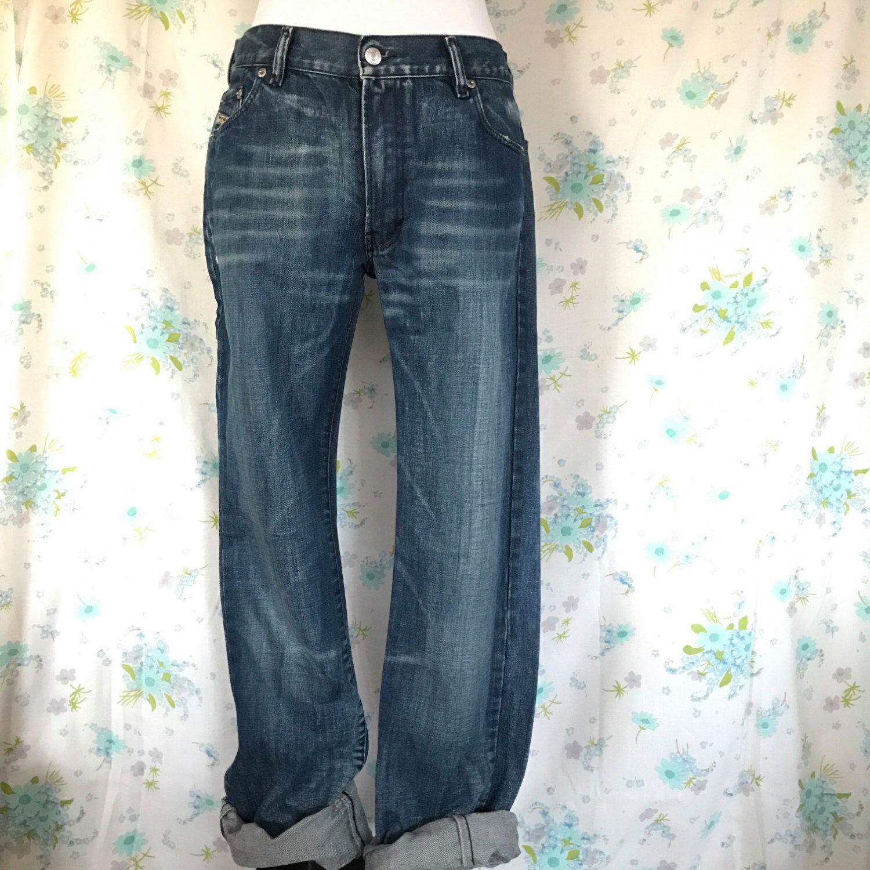 Diesel Denim Jeans Distressed Wash Unisex gLKuvG
