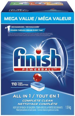Finish Dishwasher Detergent All In 1 Powerball Fresh Mega Value