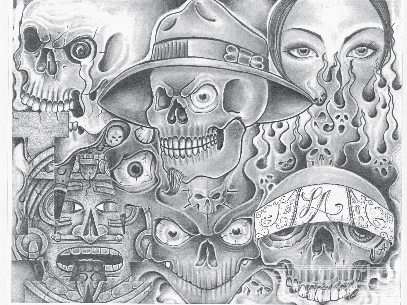 Lowrider Arte Wallpapers Lowrider Art Chicano Drawings Prison Art