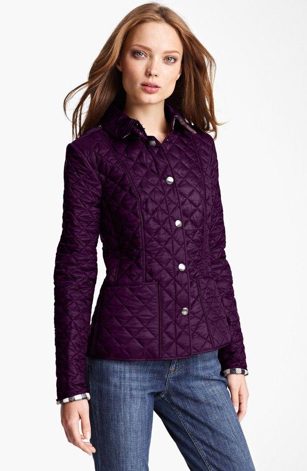 Burberry womens padded jacket
