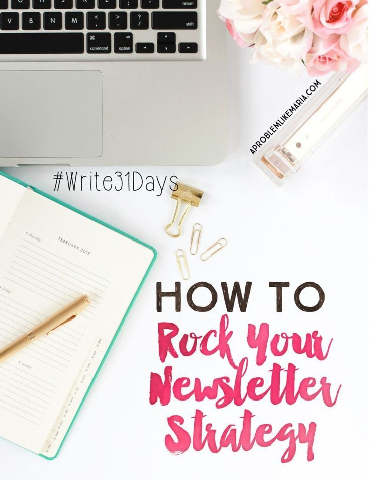 how to rock your newsletter strategy pinterest rock email