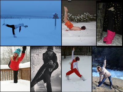 yogatta acclimate to be bendy  yoga practice photo