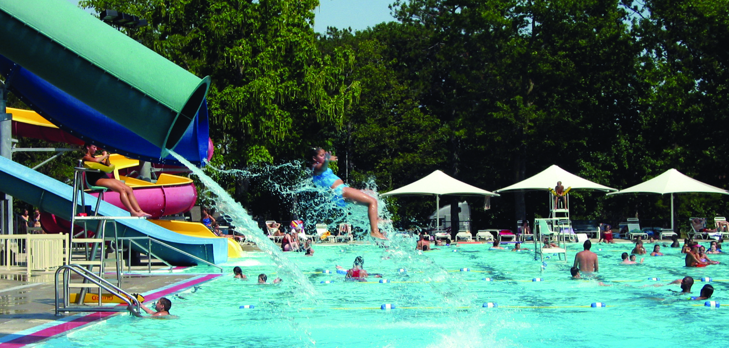 Enjoy A Fun Cooling Swim In Gage Park S Aquatic Center During The