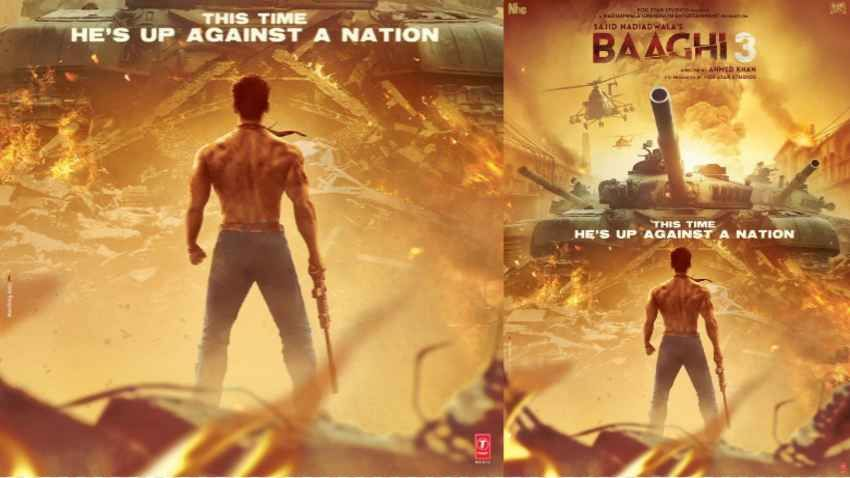 Baaghi 3 Poster Out Along With Tiger Shroff Shraddha Kapoor And