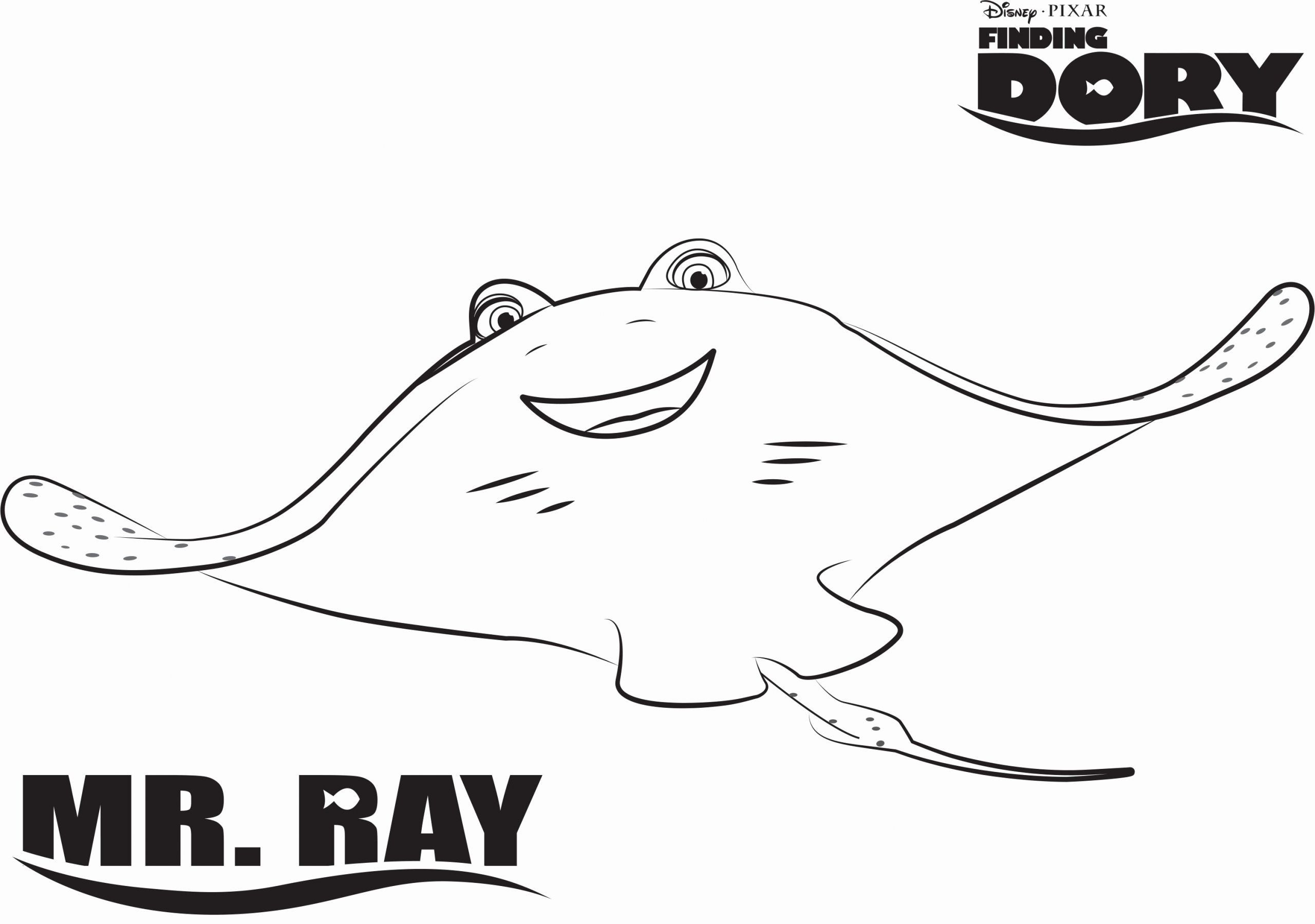 Baby Dory Coloring Pages Unique Finding Dory Coloring