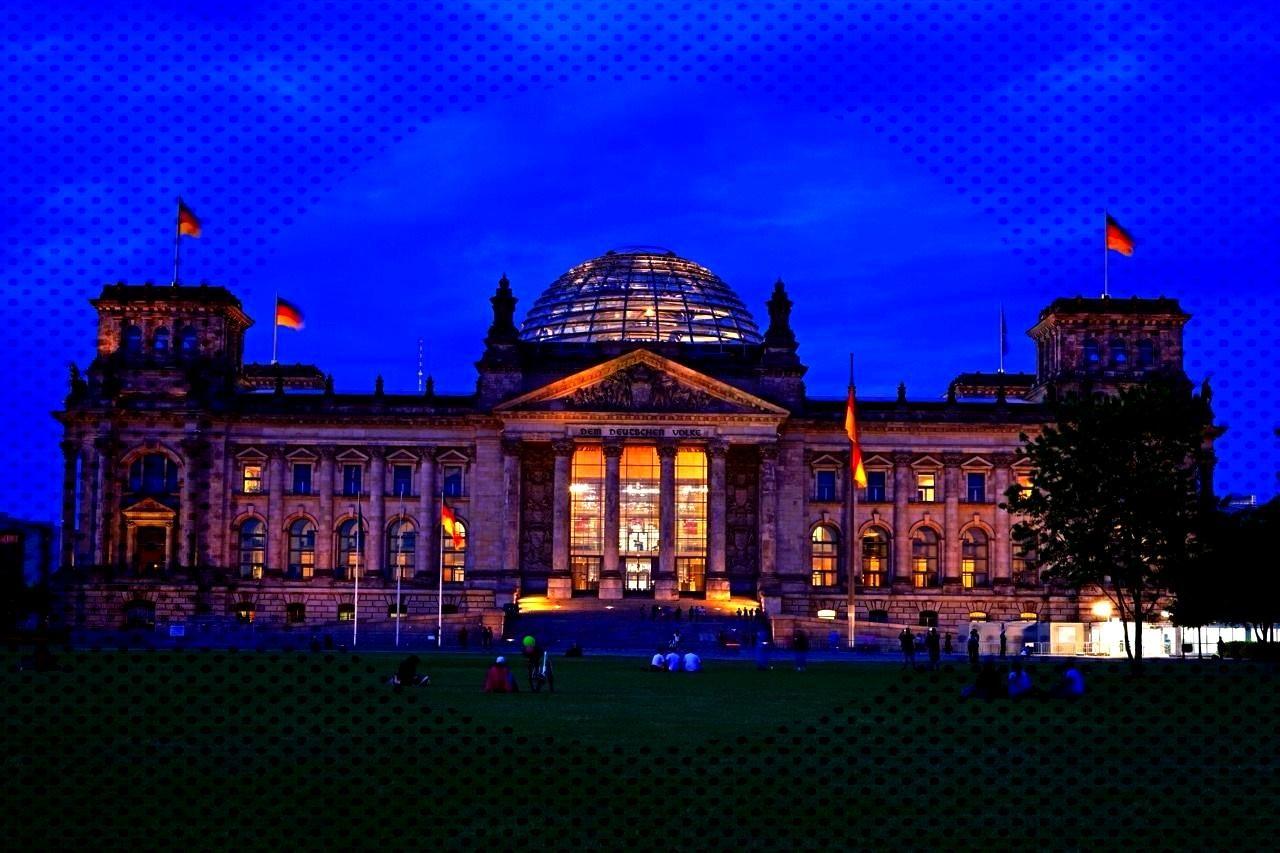 Der Bundestag / Reichstag in Berlin -