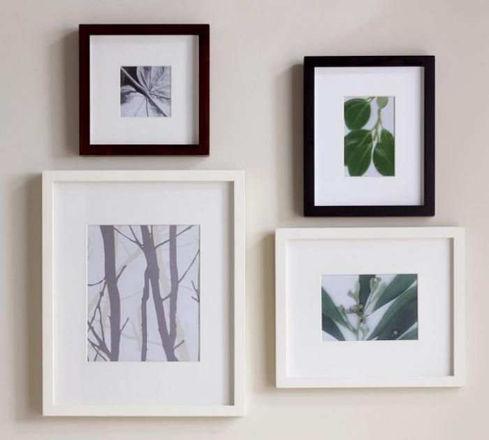 10 easy pieces gallery style picture frames - White Gallery Frames