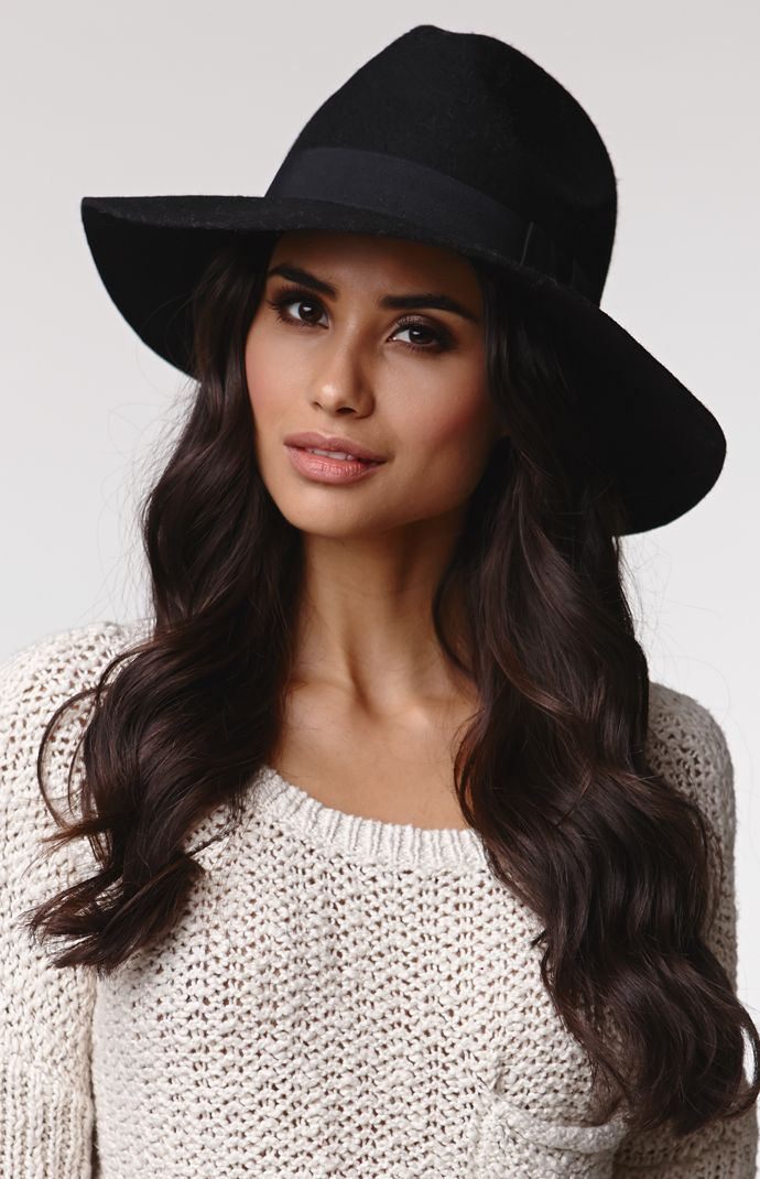 00b10fa3b8d The women s Panama Hat by Kendall   Kylie for PacSun and PacSun.com  features a wool construction and ribbon detail. The hat has a comfortable  fit and molded ...