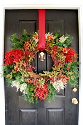 How To Hang A Wreath On A Metal Door