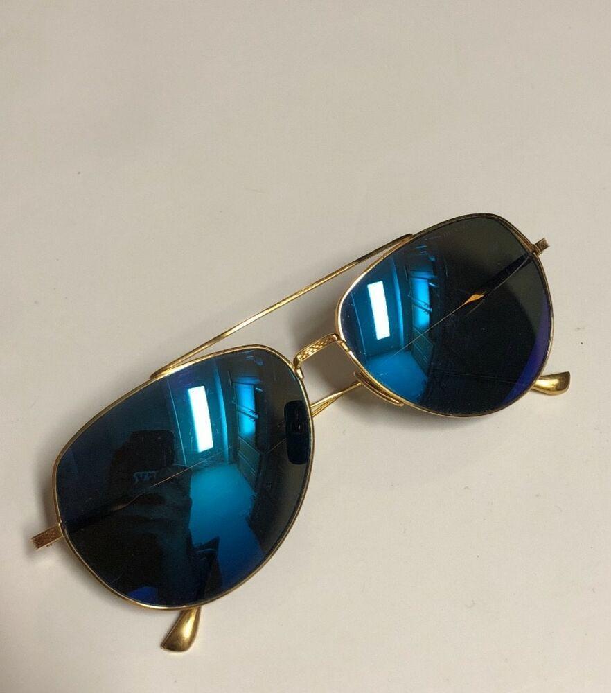 3e245bc853d3 DITA FLIGHT 004 Polarized Blue 18k Gold Frame Unisex Aviator Sun Glasses   fashion  clothing  shoes  accessories  unisexclothingshoesaccs   unisexaccessories ...
