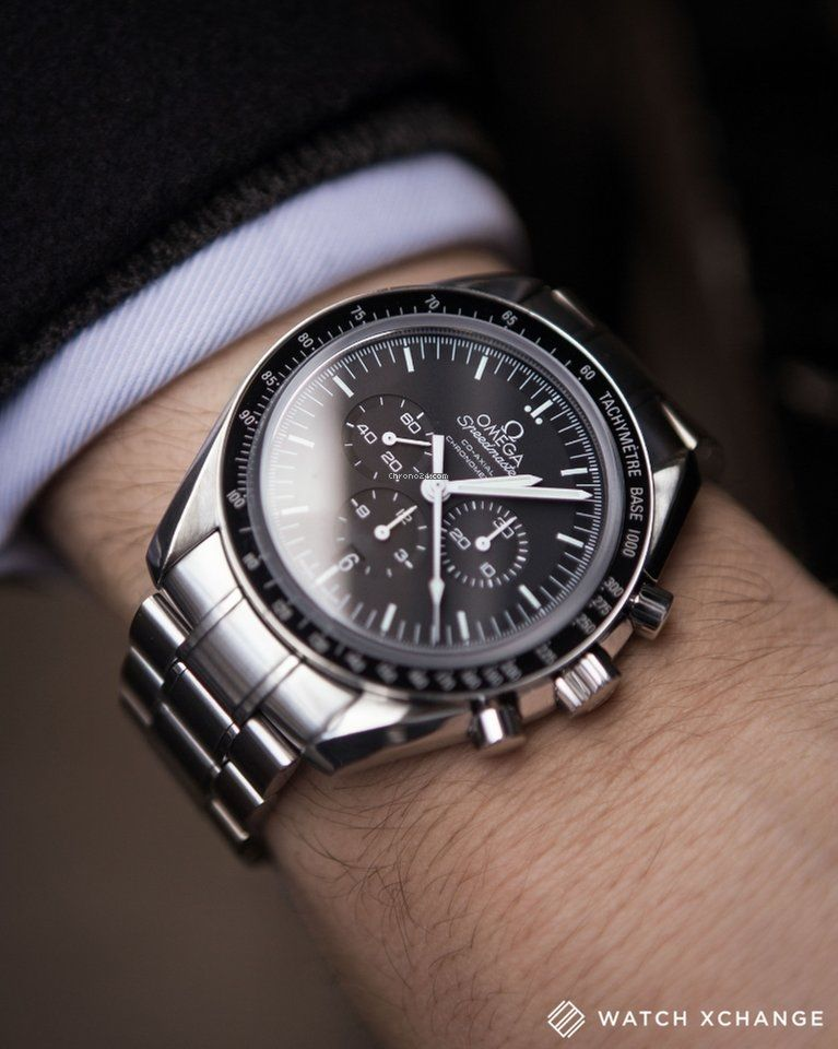 fcd40ccc068 Omega Co-Axial Moonwatch 44.25mm Occasion 4000€ Relógio Omega
