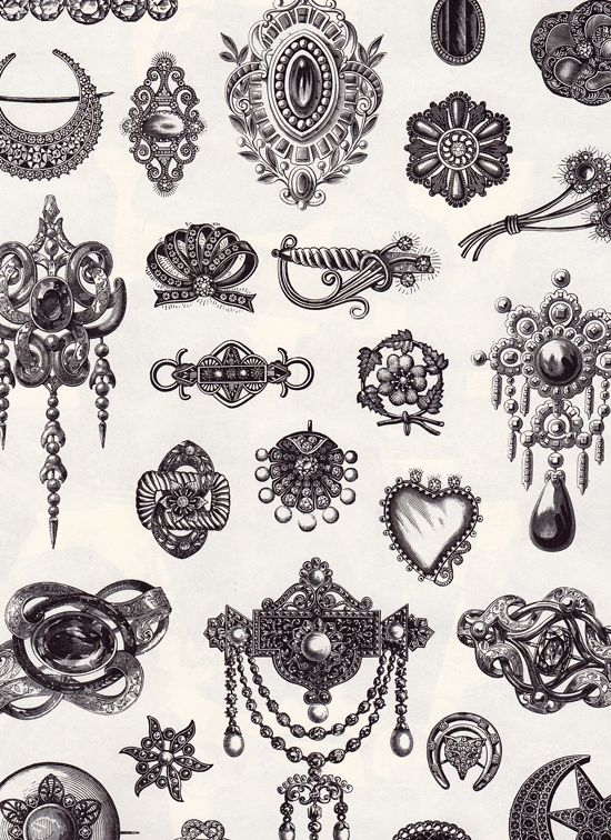 Creative Sketchbook Illustration Victorian Style