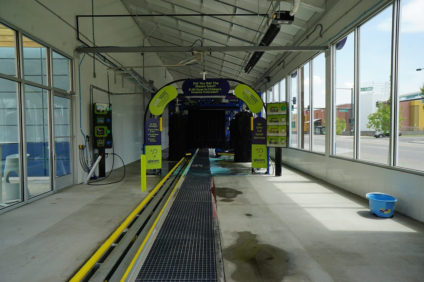 Car Wash and Auto Detailing Buildings Car wash, Steel