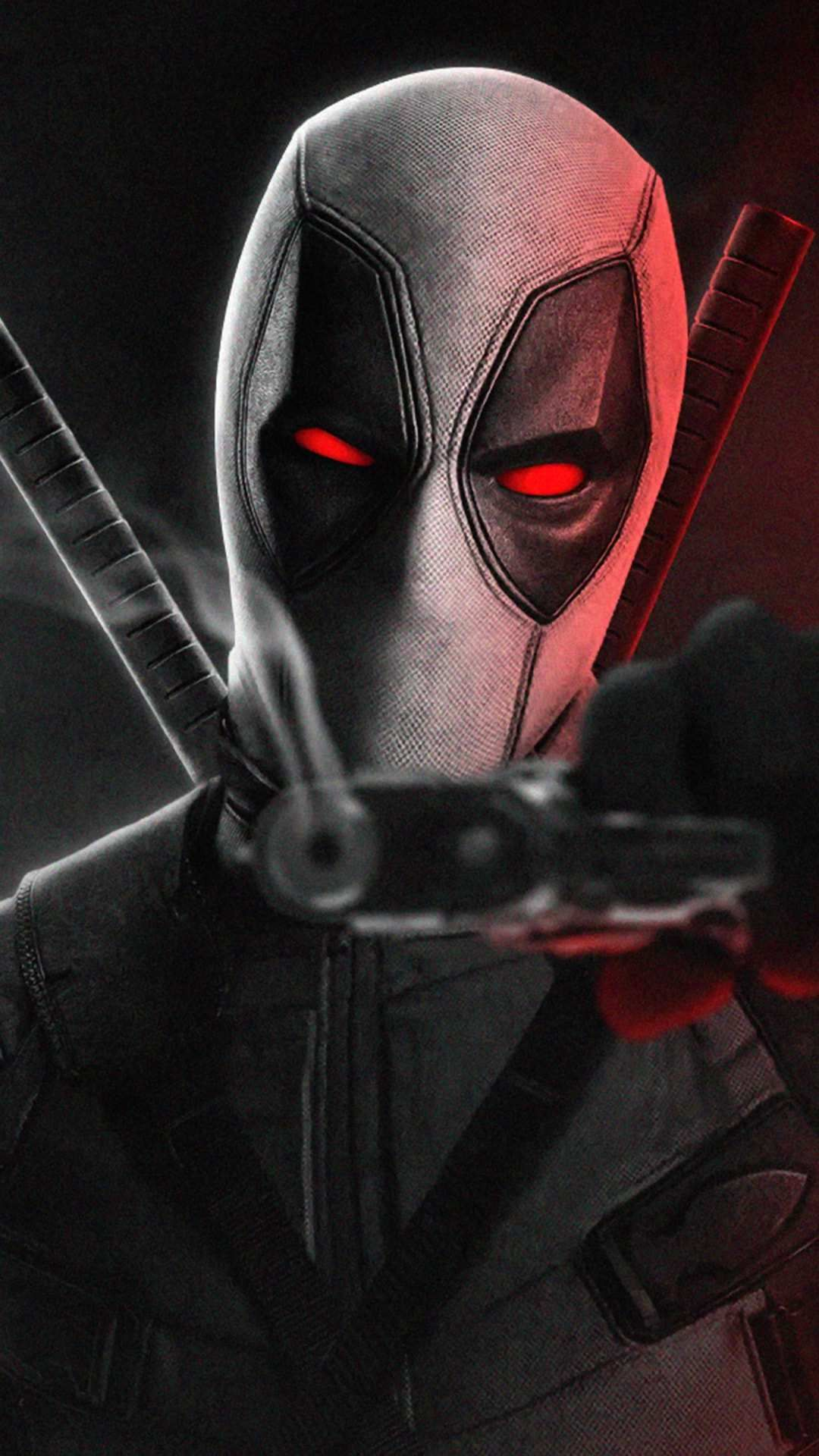 Red Dedpool iPhone Wallpaper Desenhos deadpool, Deadpool
