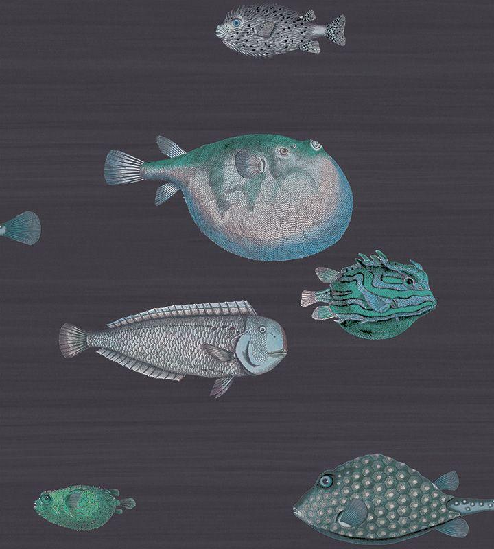 Cole Son Acquario Fornasetti Ii 97 10032 Wallpaper Met