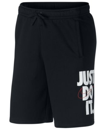 9f90868113e Nike Men's Just Do It Fleece Shorts - Black XL | Products in 2019 ...