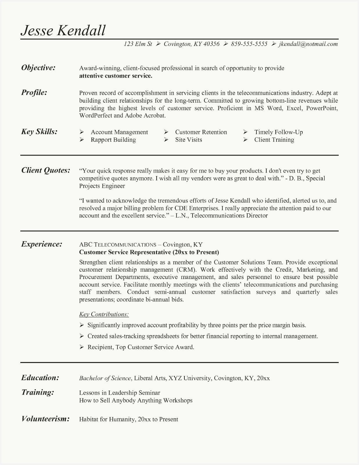 47 Example Customer Service Job Resume Gallery in 2020