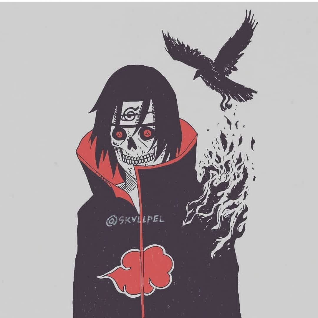 Throwback Itachi Sketch Commission Tatuagens De Anime Desenho De Anime Personagens De Anime