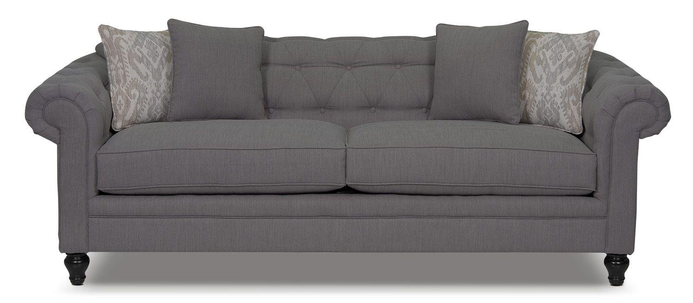 Julia Chenille Sofa Grey The Brick Home Reno Pinterest Bricks Living Room Furniture