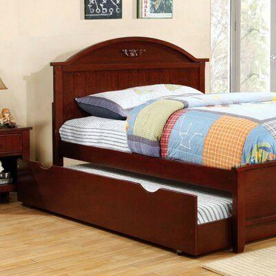 Harriet Bee Rotan Platform Bed Colour Brown Size Twin In 2020