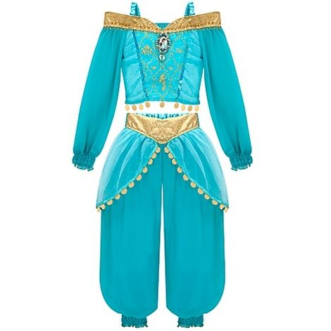 Disney Store Jasmine Costume For Girls Jasmine Costume Kids Disney Princess Dresses Jasmine Costume