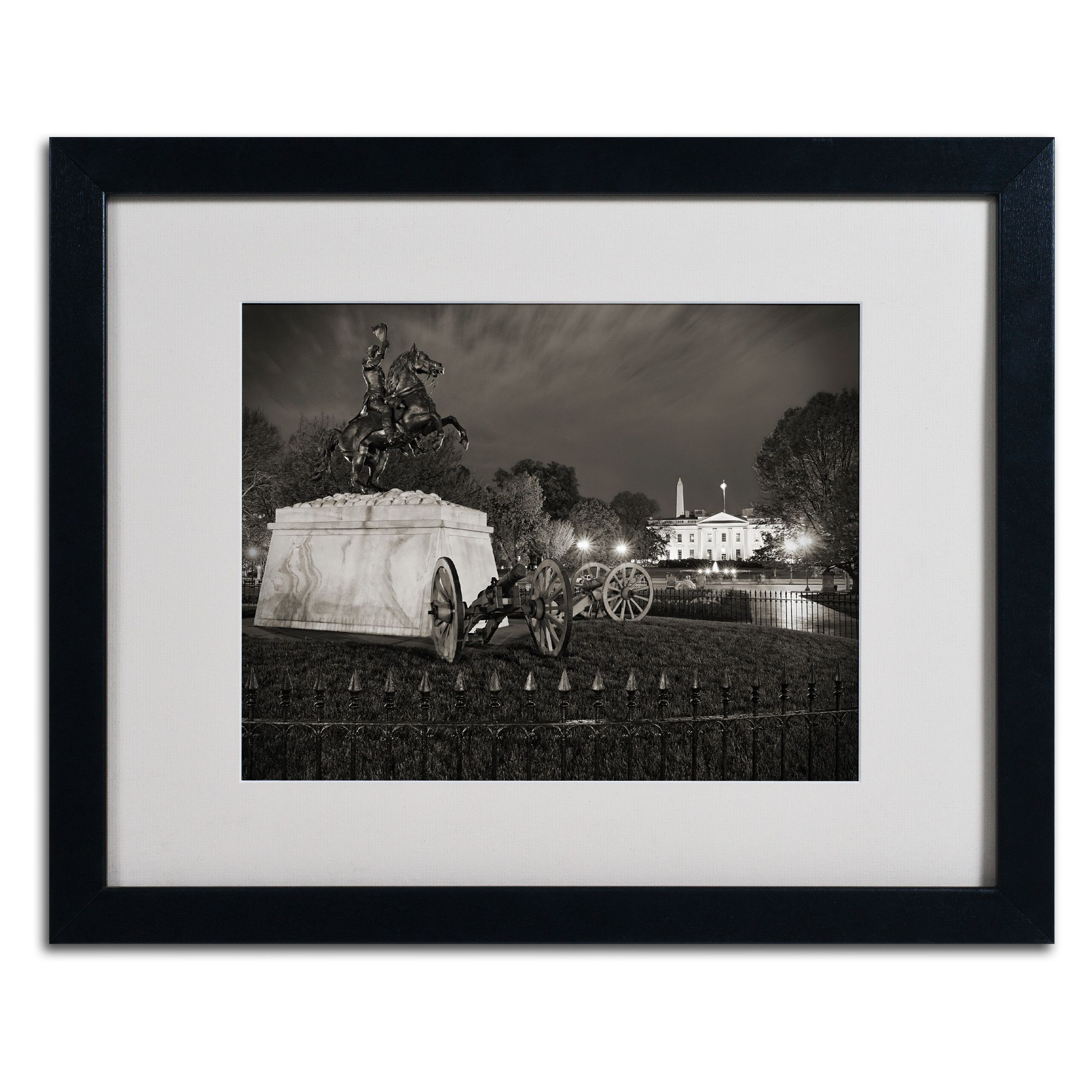 Lafayette Square by Gregory O'Hanlon Matted Framed Photographic Print