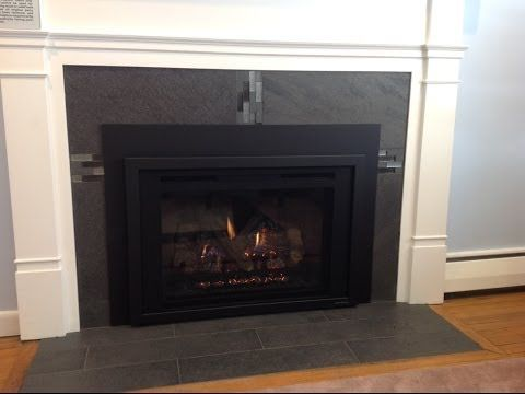 How To Install A Gas Fireplace Insert This Old House Youtube