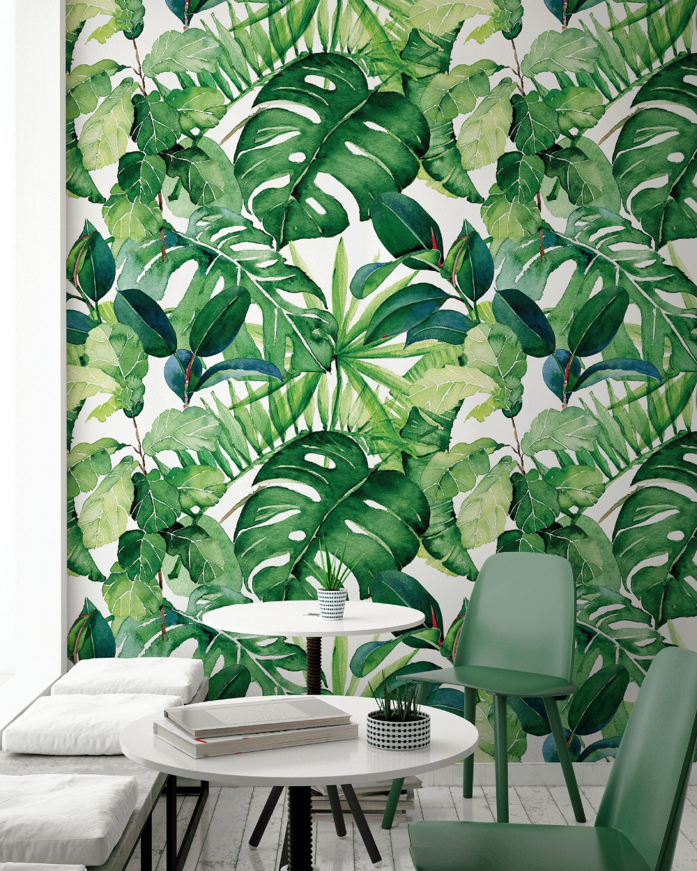 Removable Wallpaper Wall Mural Removable Wallpaper Tropical Etsy Wall Wallpaper Removable Wallpaper Wall Murals