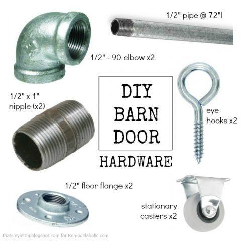Great Barn Door Hardware: