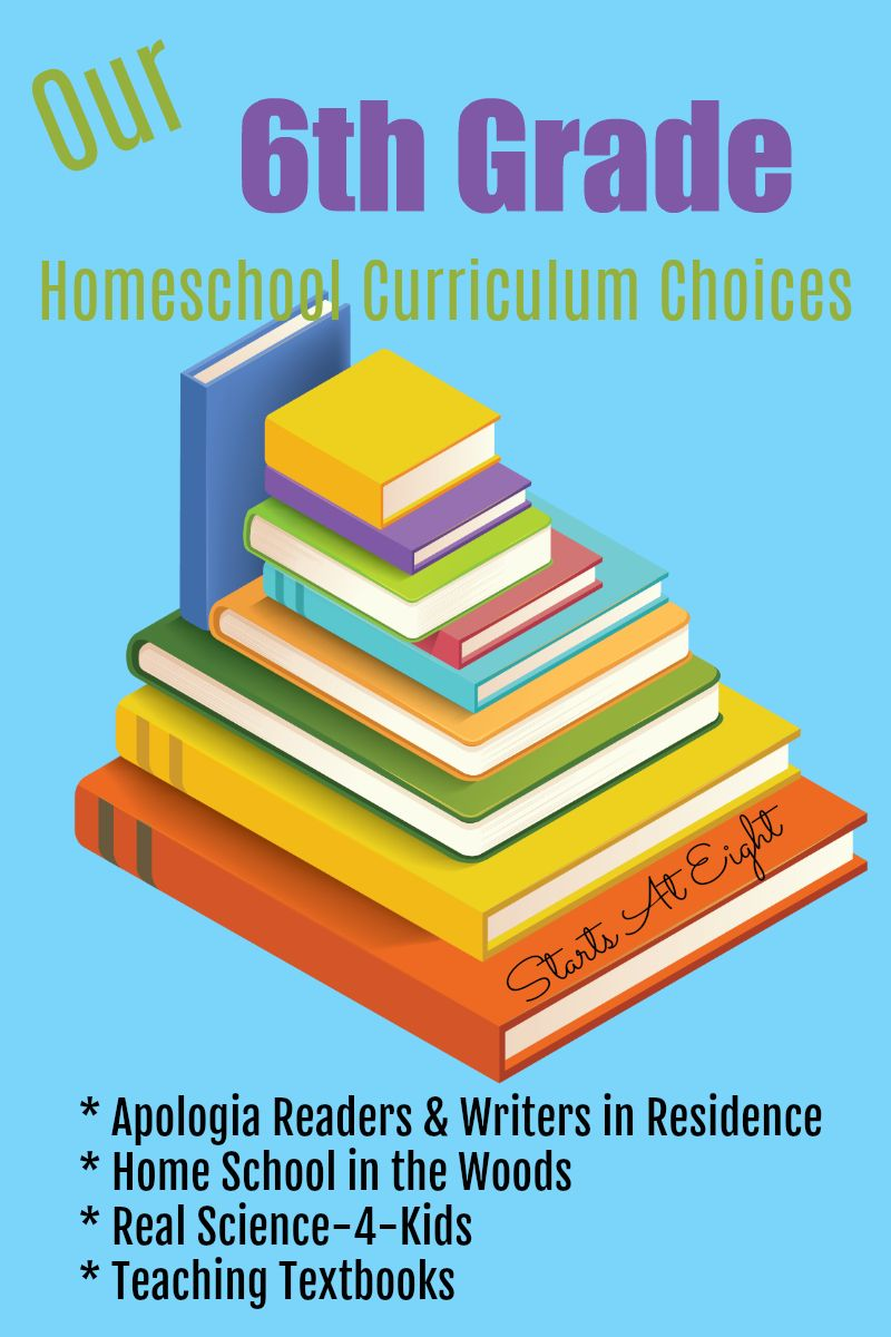 Our 6th Grade Homeschool Curriculum Choices Curriculum To Check