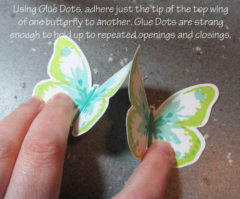 Photo Tutorial Triple Pop Up Butterfly Card Butterfly Cards Pop Up Cards Fancy Fold Cards