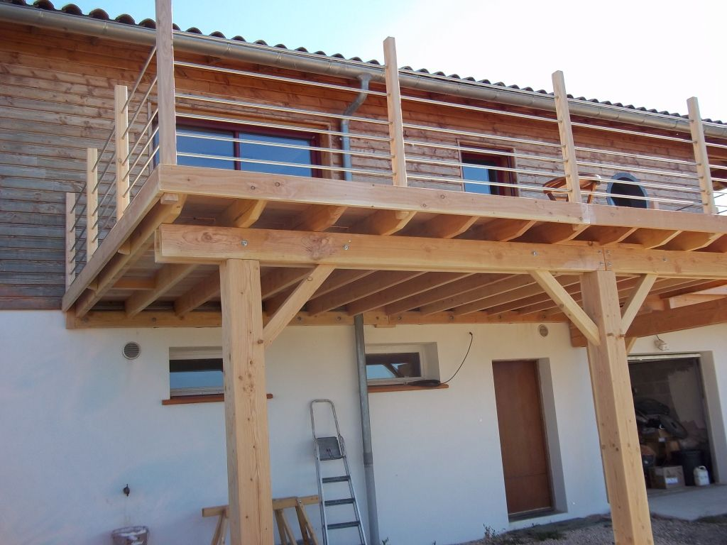 merveilleux terrasse suspendue doubs 1 | Outdoor | Pinterest | Patios, Extensions and  Decking