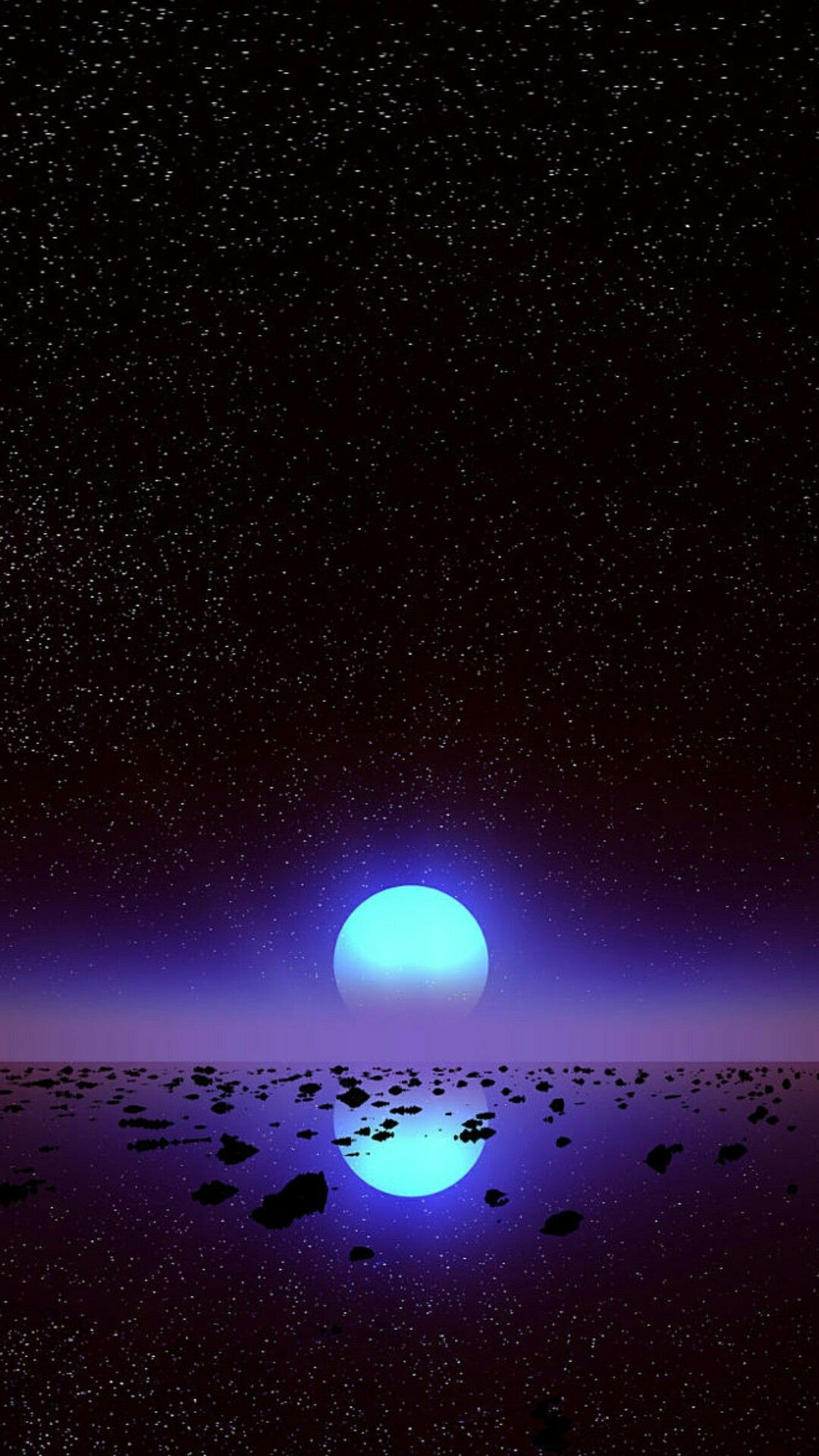 Glowing planet space wallpaper alien space and steam - Space moon wallpaper ...