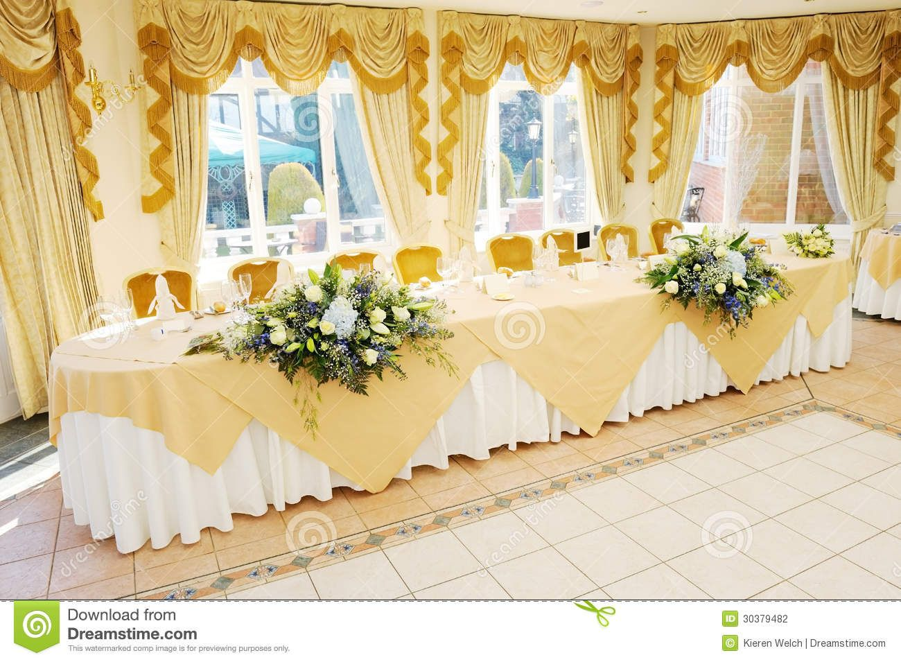 Head Tables At Wedding Receptions