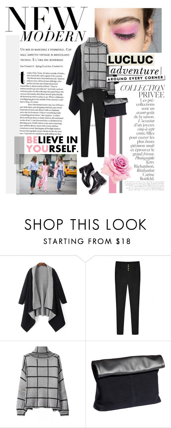 """""""Grey fall"""" by bo-jane ❤ liked on Polyvore featuring By Terry, H&M and Kate Spade"""
