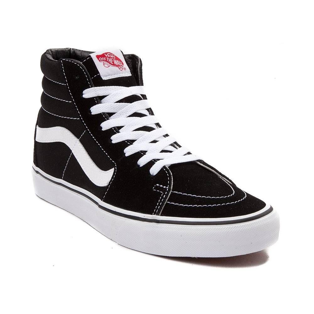 95b74ae834 Vans Sk8 Hi Skate Shoe - Black White size 8 1 2-  65 (try to find cheaper)