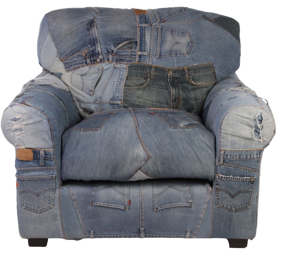 Levi Jeans Armchair You Deserve The Best Seat In The