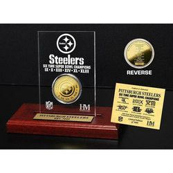 Pittsburgh Steelers 6x SB Champs Etched Acrylic