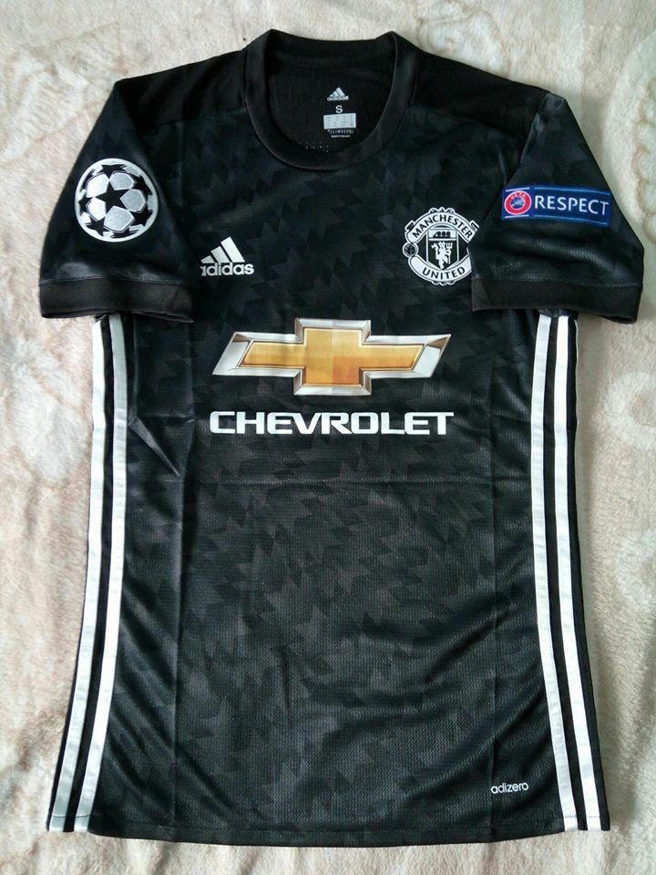 Manchester United Climacool Away Authentic Jersey Football Shirt Sport 2017 2018 Adidas Manchesterunited