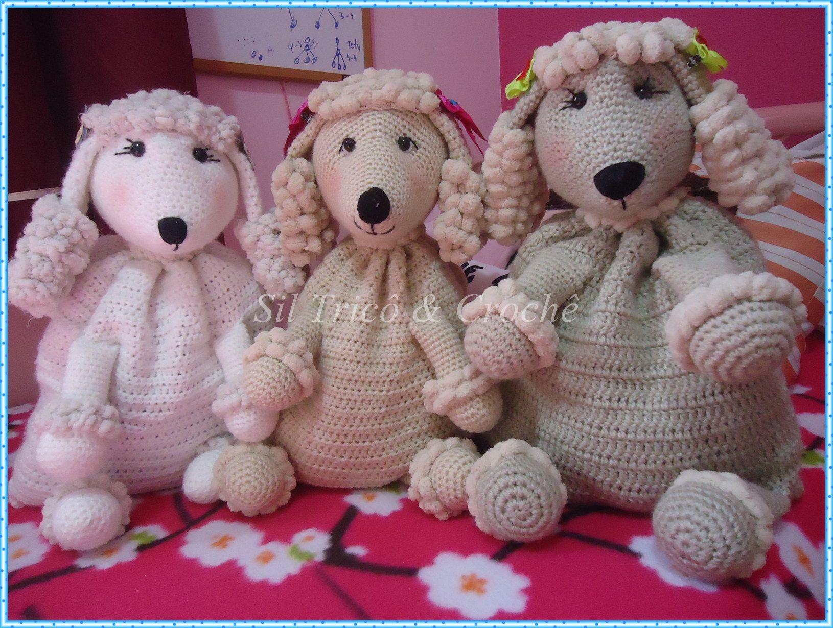 Amigurumi Oso Pijama : Amigurumis porta pijamas poodle crochet pijama