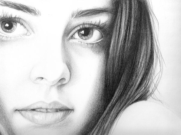 Self Portrait Drawing by ArtByOlivia on DeviantArt | Art Images ...
